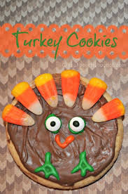 iced turkey cookies thanksgiving treats for