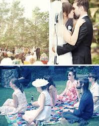 Backyard Picnic Ideas Angie Tyson U0027s Fun Backyard Real Wedding Green Wedding Shoes