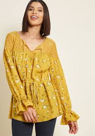 yellow blouse yellow tops for yellow blouses for modcloth