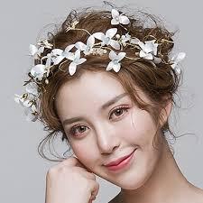 flower for hair wedding korean headdress wreath sweet wedding jewelry jewelry hair