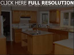 two toned kitchen cabinets feature pennington door style in cherry