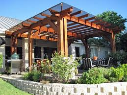 Roof Trellis 20 Beautiful Covered Patio Ideas Patio Trellis Wood Pergola And