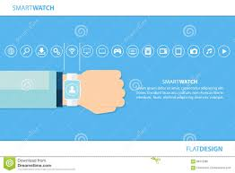 smart watch and internet of things concept smart watch and smart