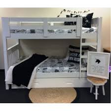 Riley King Single Bunk  New Stock Due Mid September  Out Of The Cot - King single bunk beds