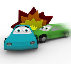 car accident cartoon images photos pictures
