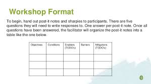intranet strategy workshop template