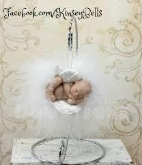 infant loss ornament angel baby memorial ornament keepsake large wings