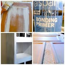 can i use bonding primer on cabinets painting mobile home kitchen cabinets i used this bonding