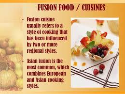 cuisiner d inition fusion cuisine