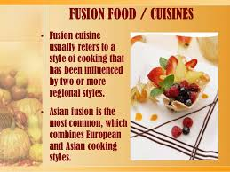 cuisine definition fusion cuisine