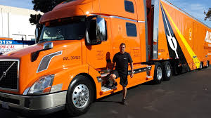 volvo big truck owner operator niche household goods hauling offers big bucks for