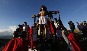 ap photos latin america remembers the passion of christ the san
