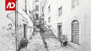 drawing spain street view daily architecture sketches 17 youtube