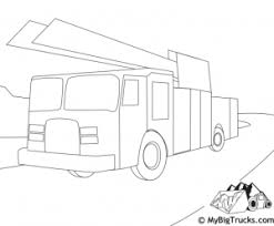 truck coloring pages mybigtrucks