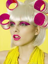 Makeup Hair Salon High Fashion Hair Salon Fashion Girly Hair Blond Pink Makeup Cool