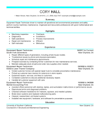 Maintenance Resume Examples General Maintenance Worker Resume Samples Livecareer