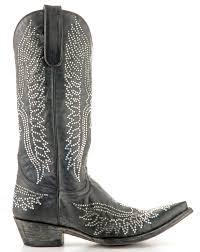 gringo womens boots size 12 l443 10 allens boots s gringo eagle swarovski