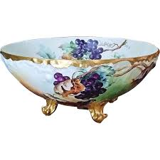 exquisite t u0026 v limoges france hand painted deep