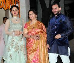 such a regal family kareena kapoor sharmila tagore and saif ali