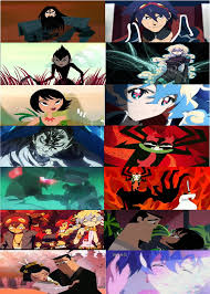 gurren lagann samurai jack and gurren lagann comparison by brandonale on deviantart