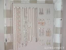 Ways To Hang Pictures Livelovediy Diy Corkboard Jewelry Organizer