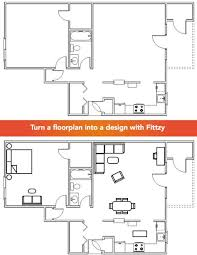 app to create floor plans fittzy allows you to turn a blank floor plan into a design within