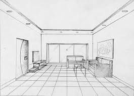 one point perspective drawing manan mapara