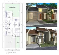 desain rumah lebar 6 meter desain rumah minimalis lebar muka 6m