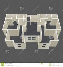 architecture house plans architecture house plan vector stock vector illustration of