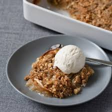 macadamia nuts and sweet apple crisp for 2014 thanksgiving
