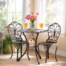Fleur De Lis Patio Furniture Cast Iron Patio Furniture Sets Foter