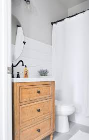 Modern Farmhouse Bathroom Modern Farmhouse Bathroom Makeover Cherished Bliss