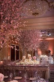 cherry blossom decor blossoming trees for weddings weddings wedding dress