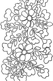 mexican floral embroidery pattern detail 1