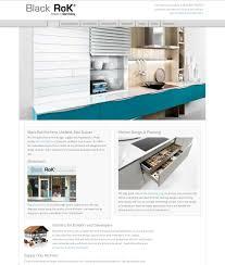 black rok kitchen design u2013 neesh web design heathfield