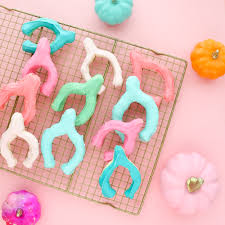 a kailo chic bake it colorful wishbone cookies