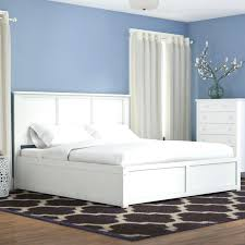 Bed Frame No Headboard King Platform Bed Storage Albachat Me