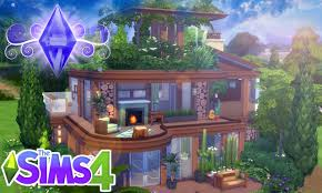 the sims 4 house building eco home youtube