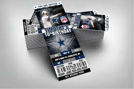 wedding invitations dallas sports invites dallas ticket sports party cowboys invitations