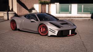widebody cars forza horizon 3 prior design ferrari 458 widebody add on tuning liveries