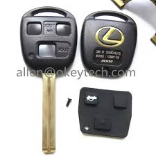 lexus key replacement shell cover font b remote b font 3 button font b key b font shell for font jpg