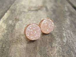 druzy stud earrings druzy gold studs druzy studs druzy earrings