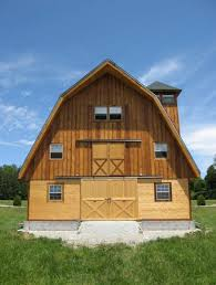 Gambrel Style Roof The Ayrshire Gambrel Style Horse Barn Barn Pros