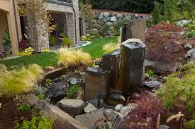rock water fountain houzz