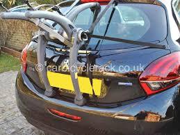 Porsche 911 Bike Rack - peugeot 207 bike rack modern arc based design 2 or 3 bikes