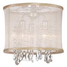 Crystal Flush Mount Ceiling Light Fixture by Bohemian 3 Light Crystal Semi Flush Mount Products Pinterest