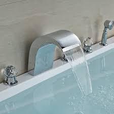 Waterfall Tub Faucet Online Get Cheap Glass Waterfall Tap Shower Aliexpress Com
