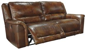 2 Seat Leather Reclining Sofa by Jayron Harness 2 Seat Power Reclining Sofa From Ashley U7660047