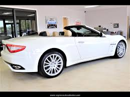 maserati granturismo white convertible 2013 maserati gran turismo for sale in fort myers fl stock