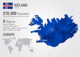 Europe On World Map by Iceland On World Map Iceland Highlighted On World Map Iceland